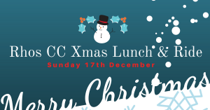 Rhos CC Xmas Lunch & Ride @ Bryn Williams Bistro Porth Eirias | Wales | United Kingdom